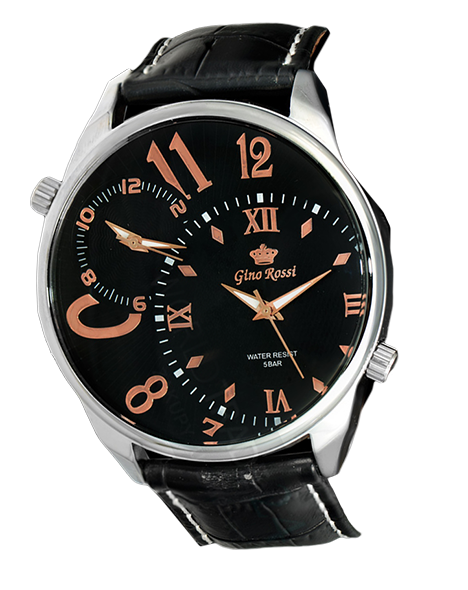 Men watch Gino Rossi 3427A-1A2 BKMiedź