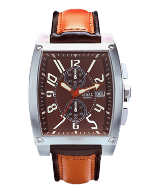 MEN'S WATCH ROYAL LONDON 41101-01 CHRONO DESING