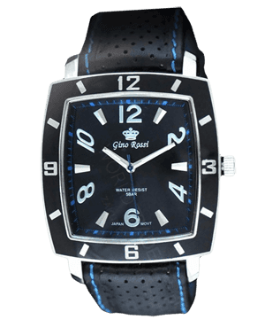 Men watch Gino Rossi 7659A2-1A3 BKBL
