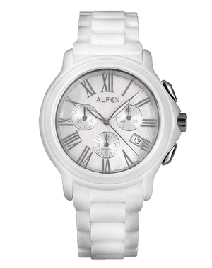 Men's watch Alfex 5629/791 Ceramic chronograf