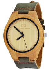 Men's watch Giacomo Design GD08001 Bamboo Wood