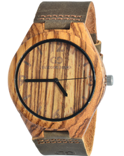 Men\'s watch Giacomo Design GD08002 Zebra Wood
