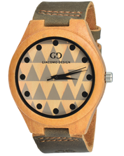 Men's watch Giacomo Design GD08003 Bamboo Wood