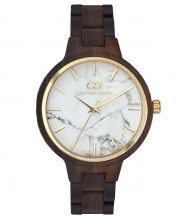 Wooden women's watch Giacomo Design GD18001