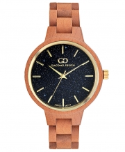 Wooden women's watch Giacomo Design GD18002