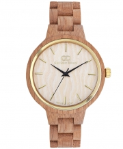 Wooden women's watch Giacomo Design GD18003
