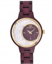 Wooden women's watch Giacomo Design GD28001