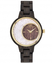 Wooden women's watch Giacomo Design GD28002