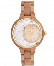 Wooden women's watch Giacomo Design GD28003