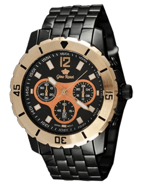 MEN'S WATCH GINO ROSSI 3924B-1A2 BKMIEDŹ