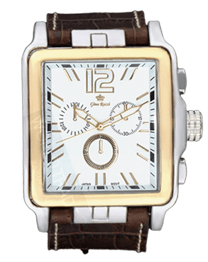 Men watch Gino Rossi 5010 silver-gold