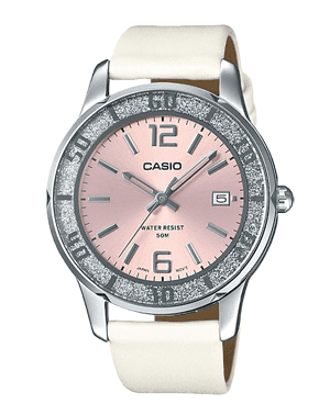 Ladies watch Casio LTP-1359SL-4A glitter date