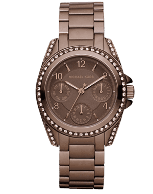ZEGAREK DAMSKI MICHAEL KORS MK5614 BROWN FASHION