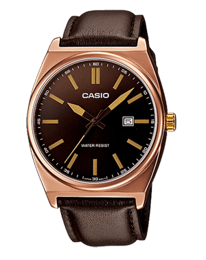 Zegarek męski Casio MTP-1343L-5B Analog Brown