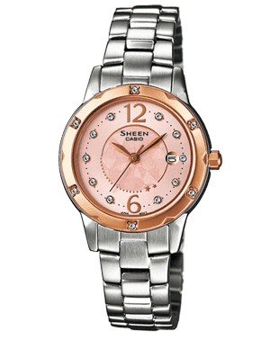 ZEGAREK DAMSKI CASIO SHE-4021SG-4A SHEEN FASHION