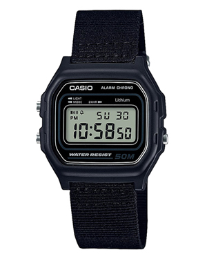 Men's watch Casio W-59B-1A stopwatch