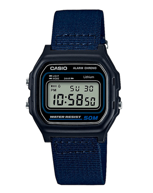 Men's watch Casio W-59B-2A stopwatch