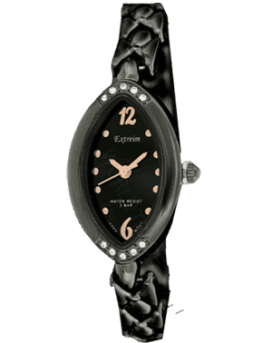 Women watch Extreim Y007A-5E BKMiedz