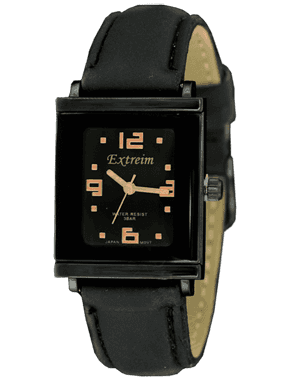 Women watch Extreim Y015B-3E BKMiedz